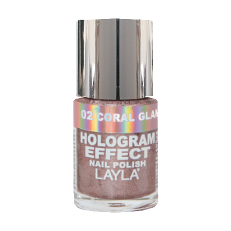 Hologram Effect Coral Glam