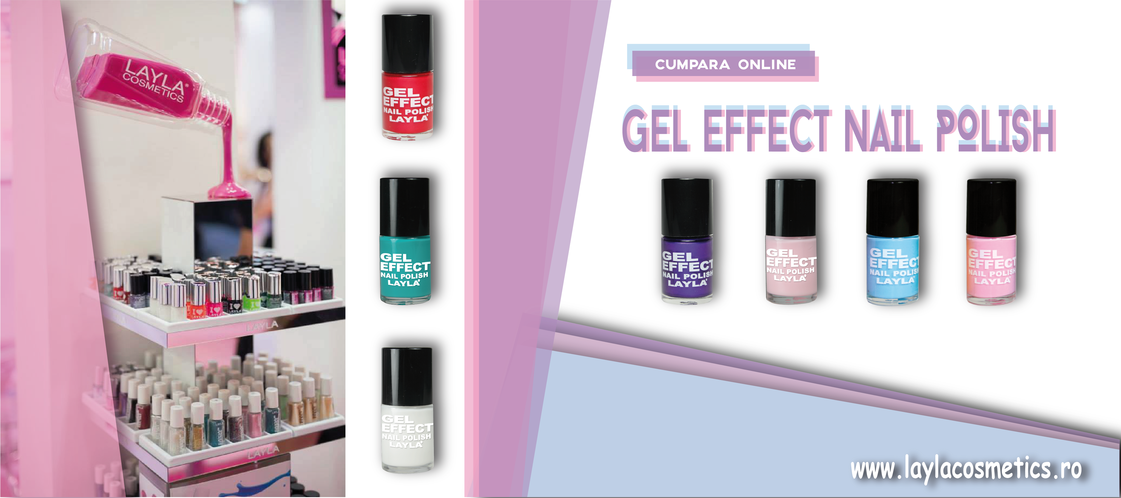 Gel Effect Nail Polish Layla Cosmetics