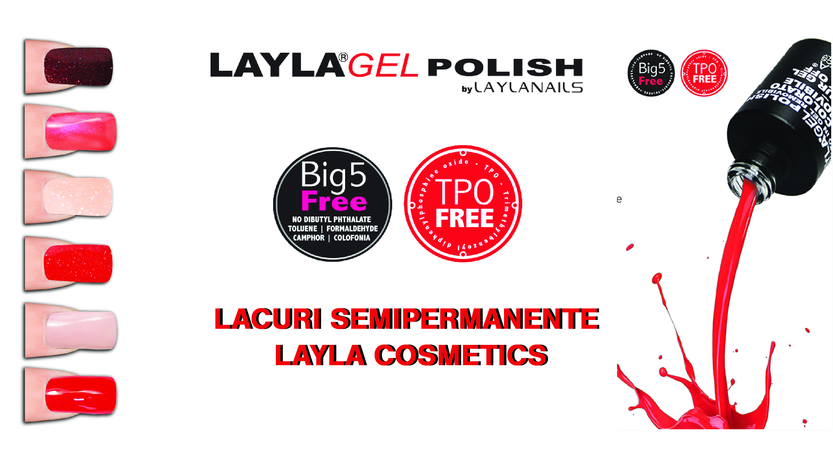 layla gel polish ads