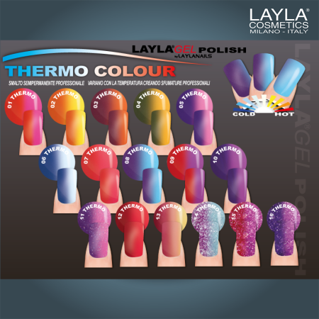 Layla Gel Polish Thermo